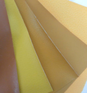 Hot Sale PU Garment Leather with Rolls pictures & photos