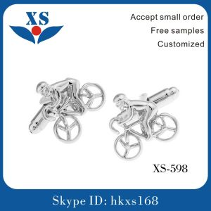 New Style Custom Metal Cufflink with Rope pictures & photos