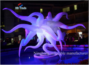 Giant LED Inflatable Decoration Like an Squid