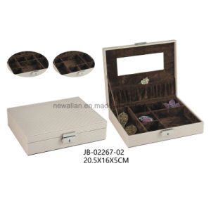 PU Gift Packing Storage Display Art Jewelry Case Jewellery Box pictures & photos