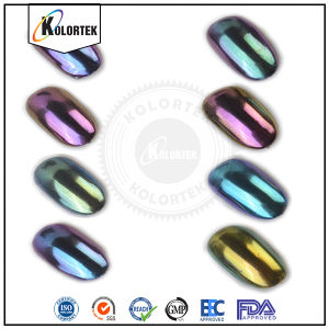 Chrome Chameleon Color Changing Pigment for Nail Polish pictures & photos