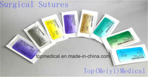 Surgical Needle Surgical Suture Surgical Suture with Needle pictures & photos