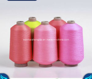 Filament Ring Spun Dyed Nylon Yarn for Knitting and Hosiery