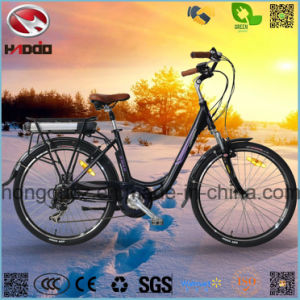 Alloy Frame 250W Cheap Electric City Road Bicycle pictures & photos