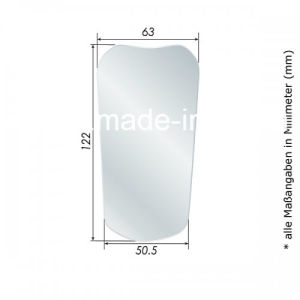 Photo Mirror Stainless Steel of # 05 Front Surface, Child, Occlusal pictures & photos