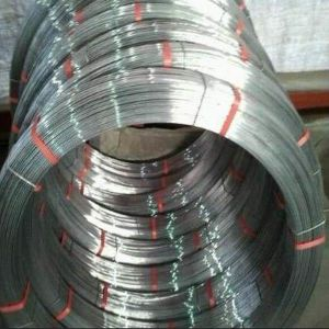 High Carbon Steel Hot Dipped Galvanized Oval Steel Wire pictures & photos