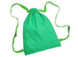 Promotion Gift Green Fashion Drawstring Bags