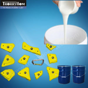 None-Sticky Liquid Silicone Rubber for Molding Climbing Holds pictures & photos