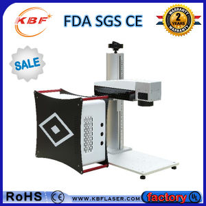 Moving Portable Fiber Laser Marker Machine for Metals pictures & photos