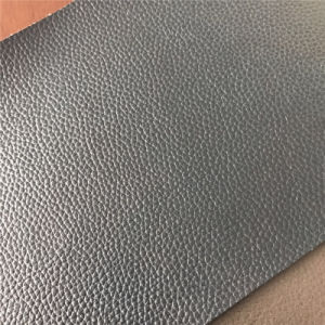Durable Bovine Fiber Leather for Furniture Sofa Car Seats pictures & photos