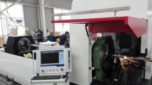 700/1000W Auto Feeding Tube Pipe Fiber Laser Cutting Machine pictures & photos