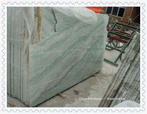 Chinese Ming Green Light Green Marble for Swimming Pool Floor Tile pictures & photos
