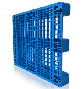 Warehouse Products EU Standard Pallet 1200*1000*155mm HDPE Plastic Tray Plastic Pallet with 3 Runners Insert 4 Steel Bar pictures & photos
