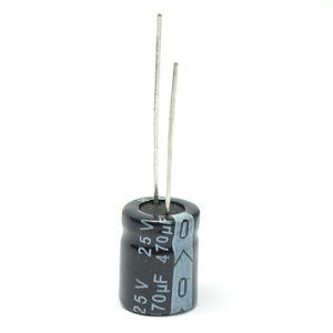 35V Radial Electrolytic Capacitor 105c Tmce02-4 pictures & photos