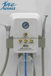 Plastic Portable Dental Unit with Syringe (7-04) pictures & photos