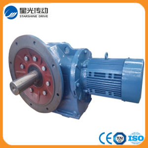 Flange Mounted Solid Shaft K107 Gearbox with Motor pictures & photos