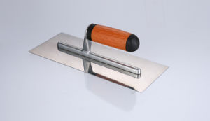 TPR Handle Trowel Mirror Finish Plastering Trowel pictures & photos
