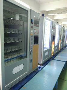 Cheap Cold Drink /Snack and Coffee Vending Machine LV-X01 pictures & photos