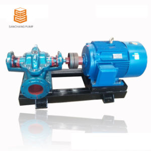 Double Suction Split-Case Pump Centrifugal Pump/ Booster Pump pictures & photos