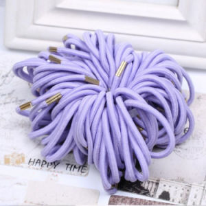 Good Quality Elastic Metal Free Hair Tie pictures & photos