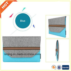 Wholesale Custom Cheap Price 13 15 17 19 20 Inch Felt Laptop Bag for MacBook pictures & photos
