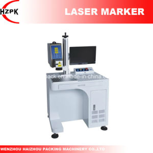 Hzlf -20b Vertical Type Fiber Laser Marker Marking Machine From China pictures & photos