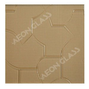 4mm, 5mm, 6mm Brown Puzzle Figured / Pattern / Patterned Glass Brown Puzzle Glass pictures & photos
