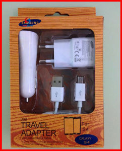 Wholesale Price 3in1 Mobile Wall USB Charger for Samsung Glaxy Ss4/5 pictures & photos
