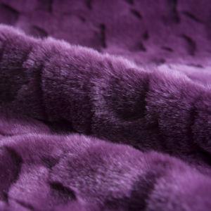 Purple Imitation Rabbit Fur (XDT012)