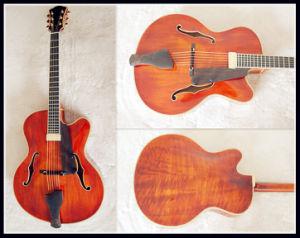 "17"" Archtop Jazz Guitar Stock (YZ-15A)"