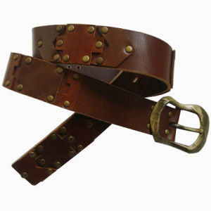 Fashion Men′s Genuine Leather Waist Belt (JYB-27031) pictures & photos