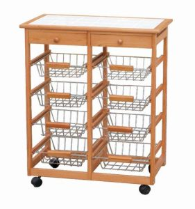 Wooden Kitchen Trolley (HX1-3255)