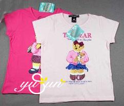 Children′garment / Children′s Clothes / Girl′s T-Shirt (CH0022) pictures & photos