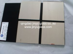 Competitive Price Bronze Mirror with Painted Glass pictures & photos