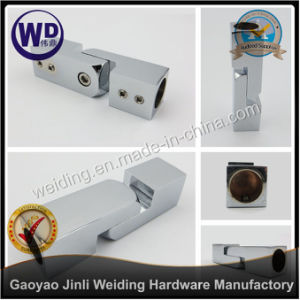 Shower Round Tube Support Bar Bracket Pipe Connectorwt-6622 pictures & photos