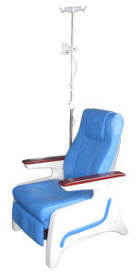 Hospital Electric Blood Donation Chair Dialysis Seating Patient Seat (P02) pictures & photos