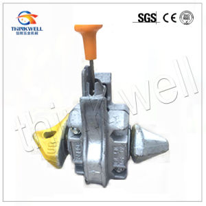Forged Shaft Semi Automatic Marine Container Twistlock pictures & photos