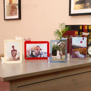 5 Inch 6 Inch Creative Art Acrylic Photo Frame pictures & photos