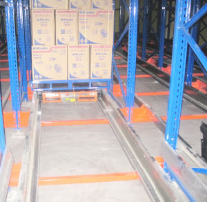 Semi-Automated Shuttle Pallet Racking pictures & photos