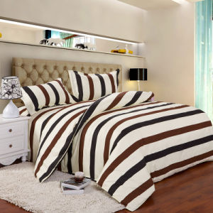 Comfortable Cotton Bedding Set/ Bed Sheet/ Pillowcases /Duvet Cover for Home/Hotel pictures & photos