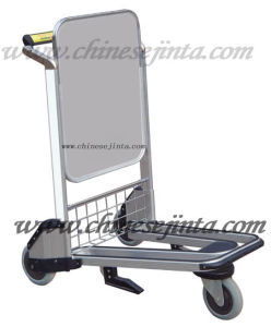 Stainless Steel Airport Luggage Carts with Brake (JT-SA04) pictures & photos