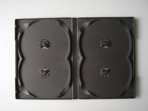 14MM DVD Case for 4 Discs No Tray (PD-144)