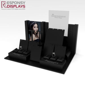 Wood Counter Jewelry Bespoke Display Rack for Boutiques pictures & photos