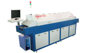 Full Hot Air Lead-Free Reflow Oven With 7 Heating-Zones/ Middle-Size Hot Air Reflow Oven (TN370C) pictures & photos