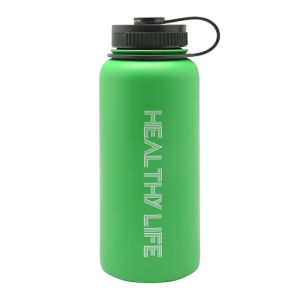 Stainless Steel Vacuum Sports Bottle with Loop 946ml pictures & photos