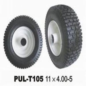 11X4.00-5 PU Filled Rubber Airless Lawn Mower Tire (KN11UBC-400-5) pictures & photos