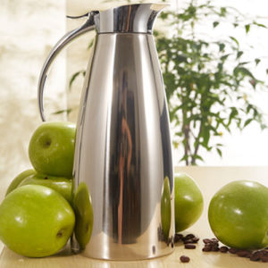 Solidware Stainless Steel Insulated Vacuum Coffee Pot for Hotel pictures & photos