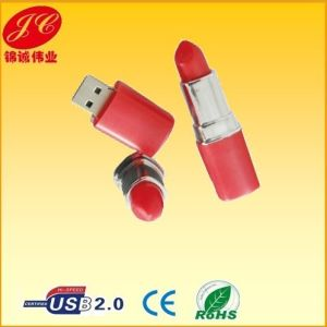 Fashion Red Lipstick USB Flash Drive 2.0 for Lady Gift