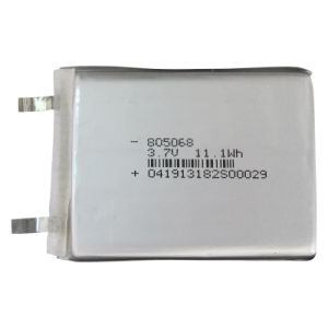 Prismatic Li Ion Polymer Battery Cell for POS Terminal/ GPS