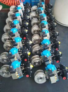 Pneumatic Ball Valve with Limit Switch, Solenoid Valve pictures & photos